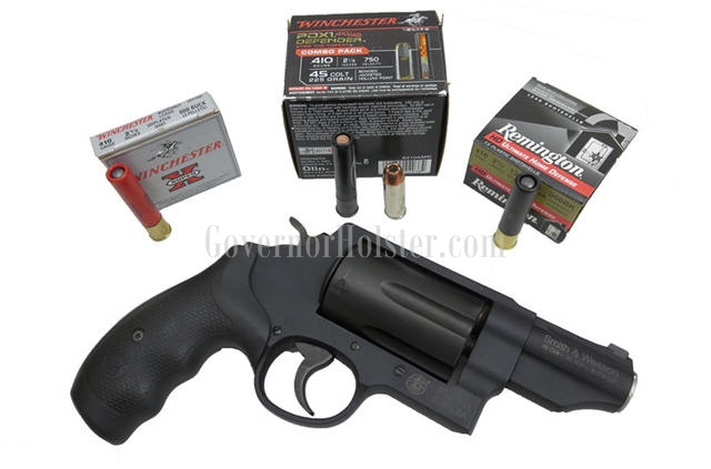 410 handgun ammo with governor