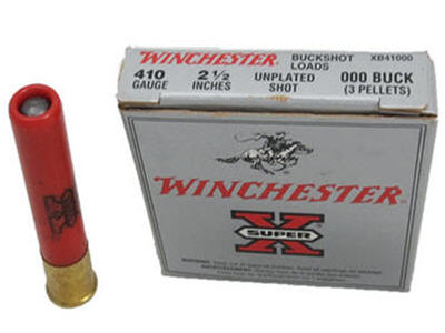 winchester super x 410 governor ammo